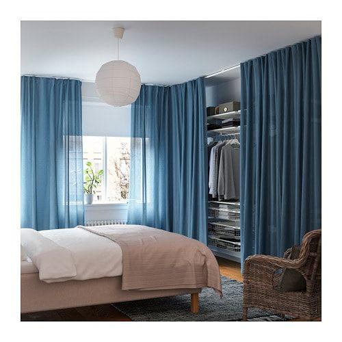 Red Bedroom Curtains Bedroom Corner Cabinet Designs L Shaped Bedroom Cupboards Bedroom Athletics Slipper Socks: VIDGA Room Divider For Corner White IKEA In 2019