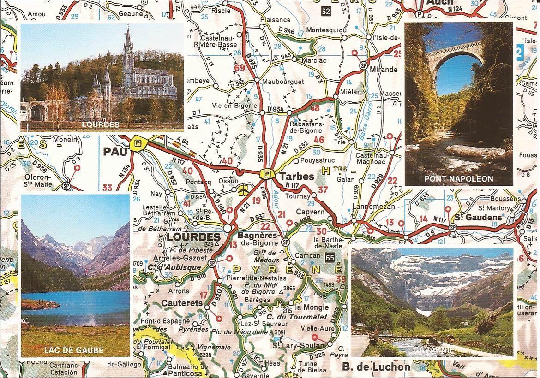 65 Hautes Pyrenees Dans Ma Boite Aux Lettres Cartes Postales De