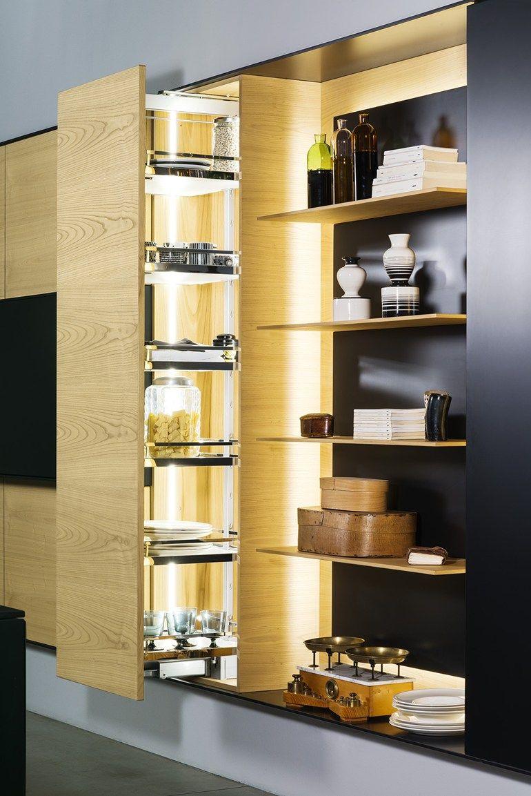 Cuisine avec péninsule FX CARBON - TM Italia Cucine   mobilier ...