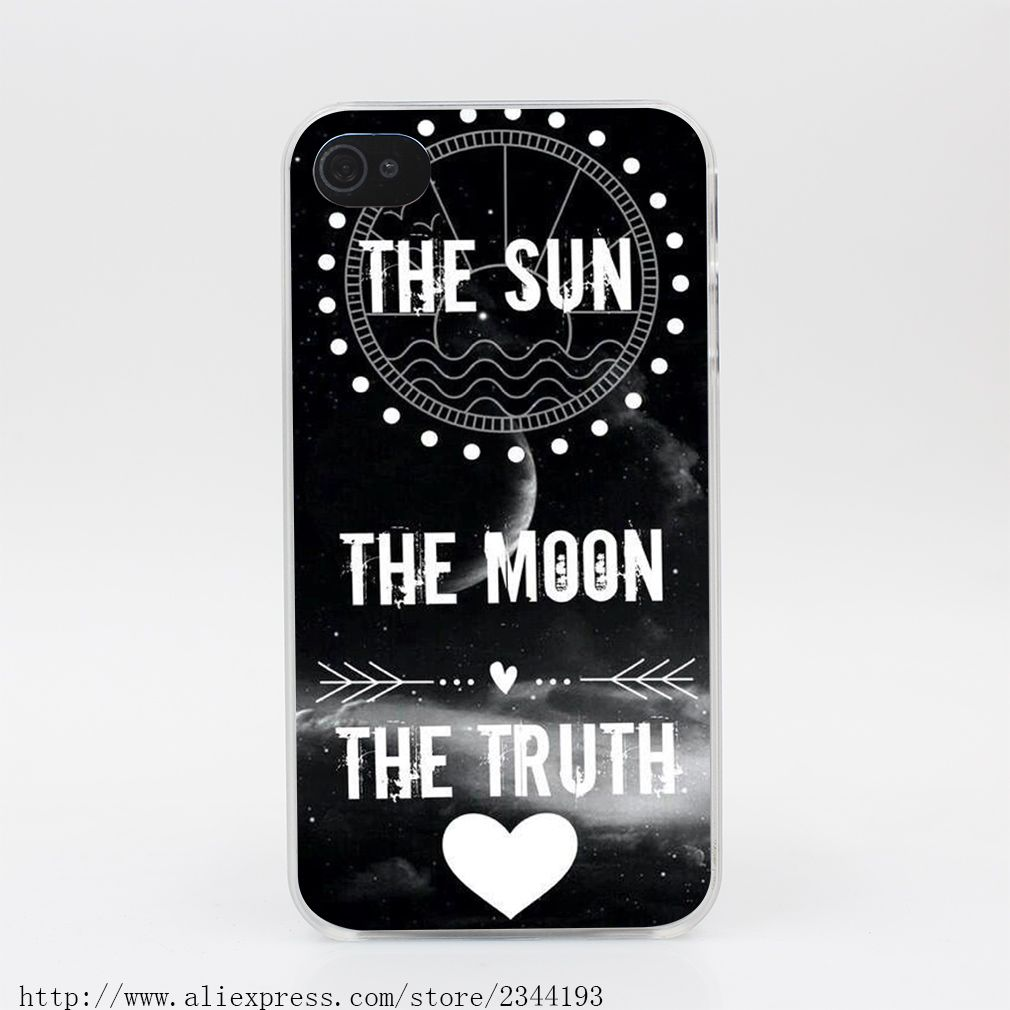 teen wolf the sun and The Moon iphone case