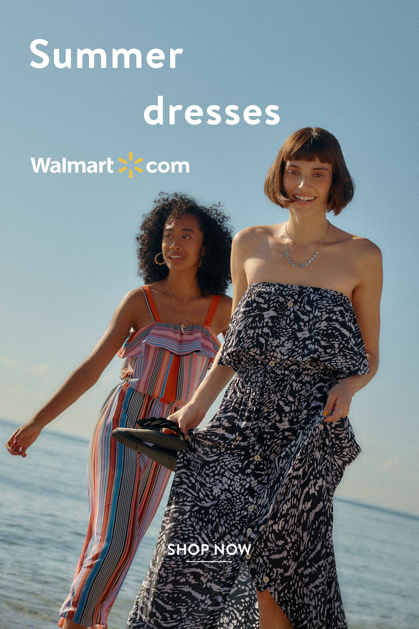 We Dress America In Easy One Pieces Shop Summer Outfits At Walmart Com Summer Shopping Outfit Walmart Outfits Dresses [ 2083 x 1389 Pixel ]