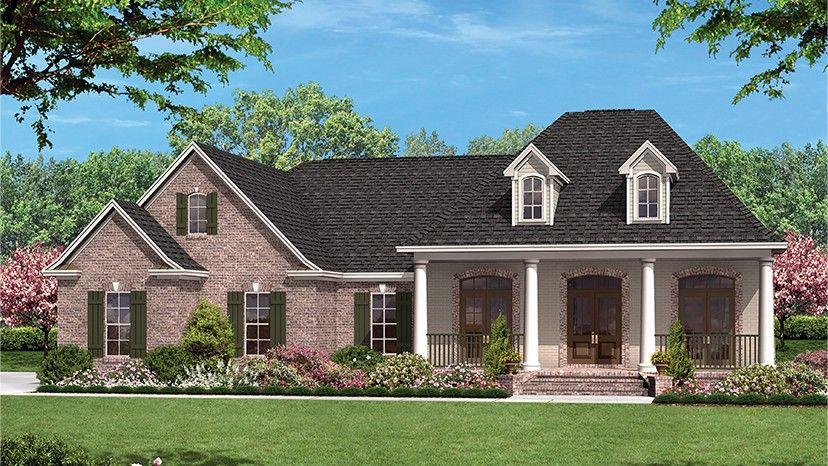 Home Plan HOMEPW77576 - 1500 Square Foot, 3 Bedroom 2 Bathroom Ranch