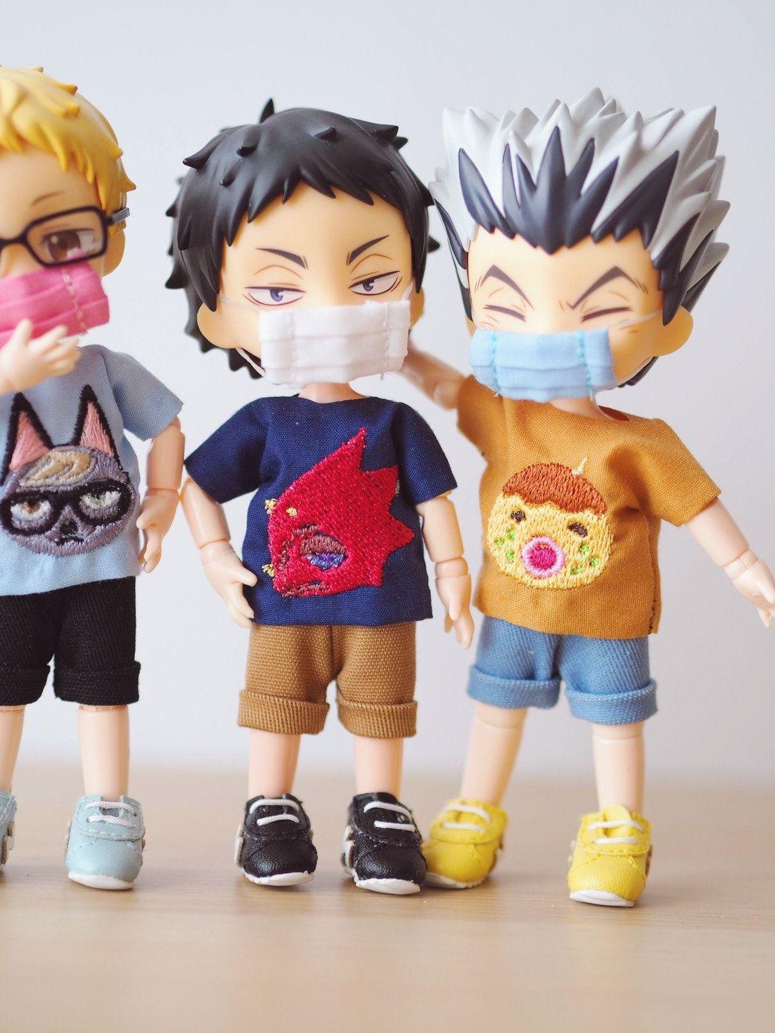 Doll masks for nendoroid obitsu 11 clothes 100 handmade