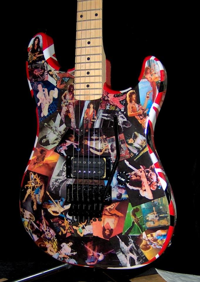 Edward Van Halen Fan guitars in 2019 | Music guitar ...Eddie Van Halen Guitar Design