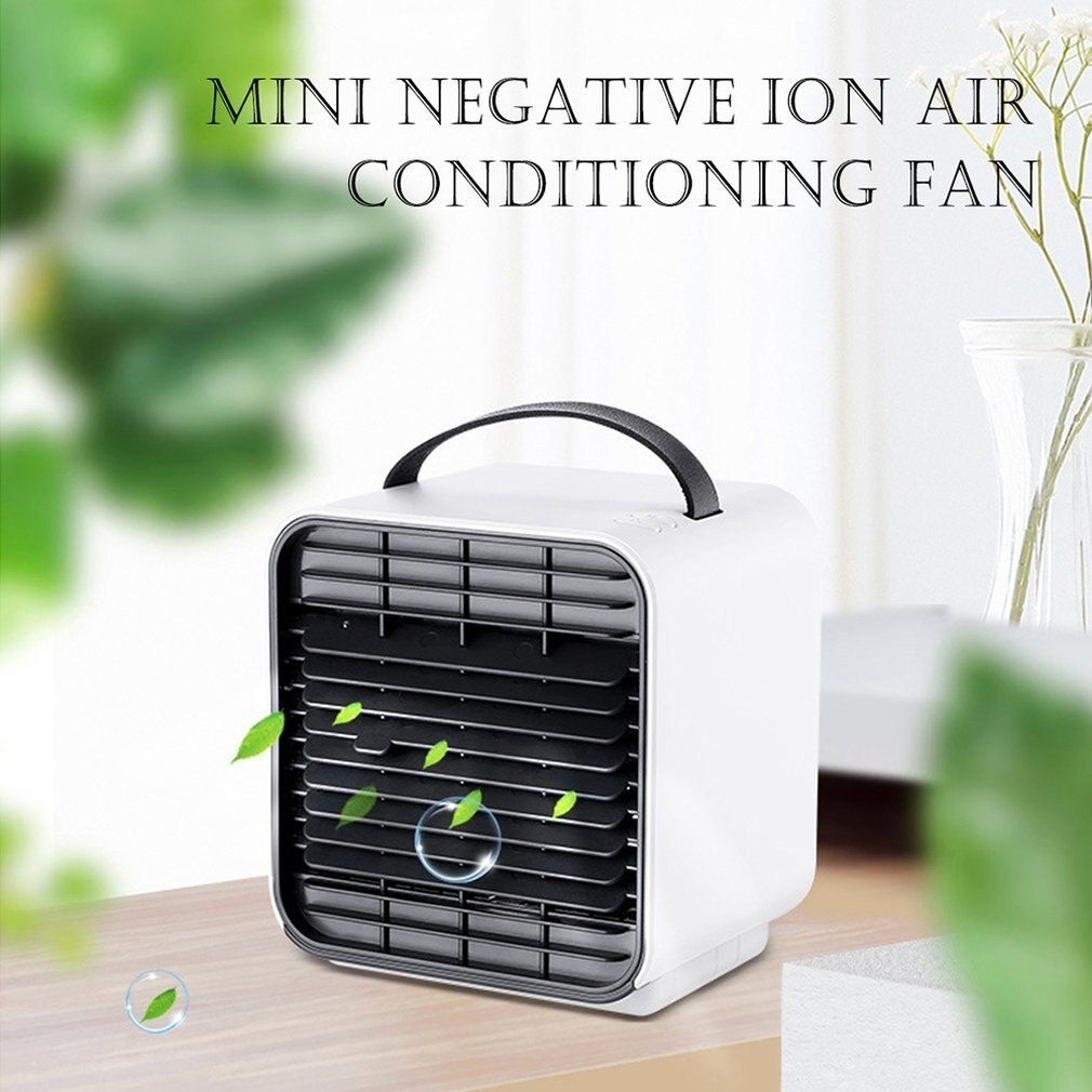 Usb Charging Mini Cooling Fan Small Refrigeration Air Conditioning