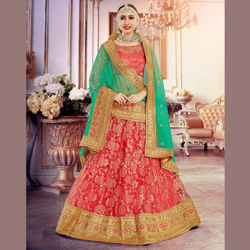 Indian Ethnic Designer Bollywood Bridal Wedding Party New Lehenga Choli  Dupatta #Handmade #LehengaCholi