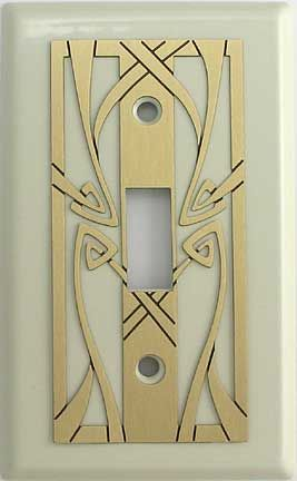 Art Nouveau Switchplate Home Sweet Home Ideas In 2019