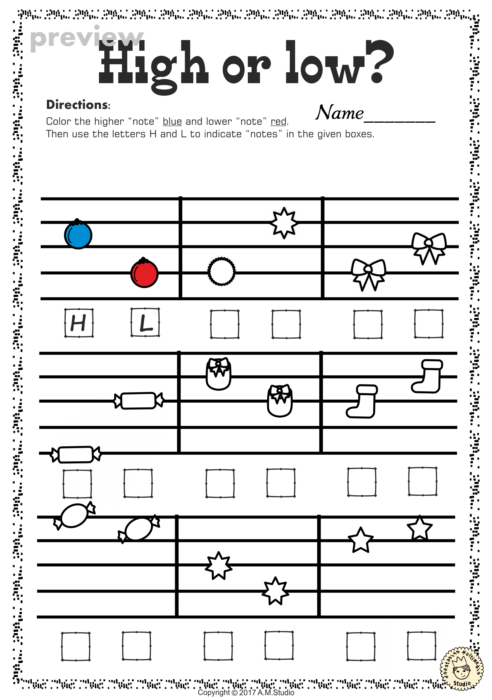 This set of 20 Music worksheets Christmas themed is designed to ...