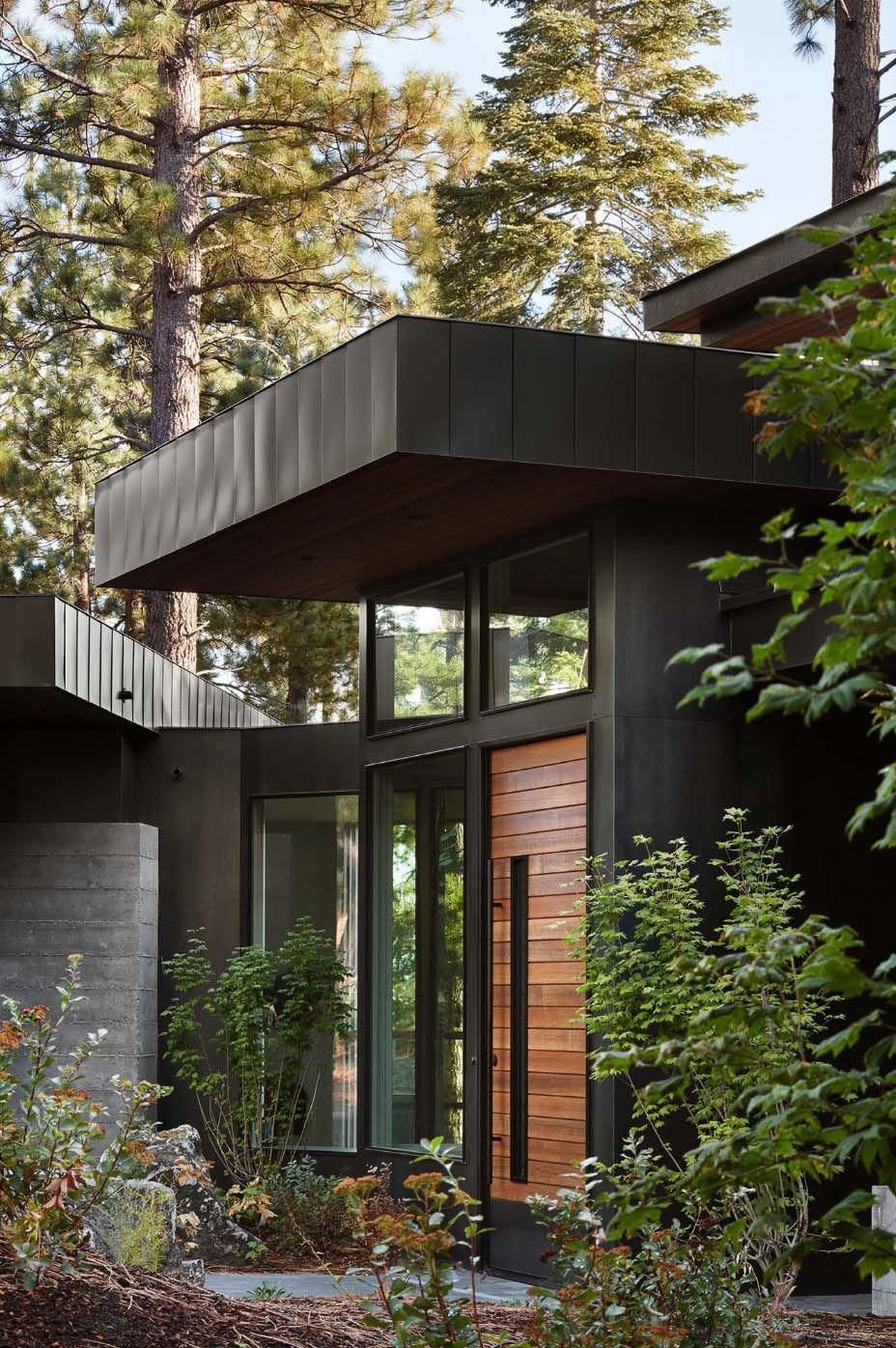 Fabulous prefabricated mountain modern home on Lake Tahoe ...