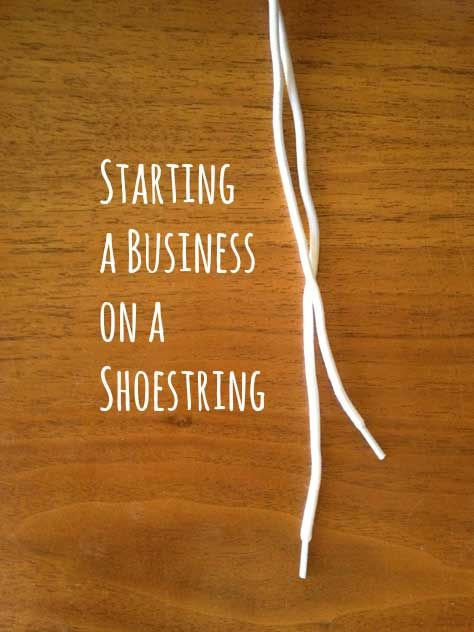 starting a business on a shoestring business boutique and