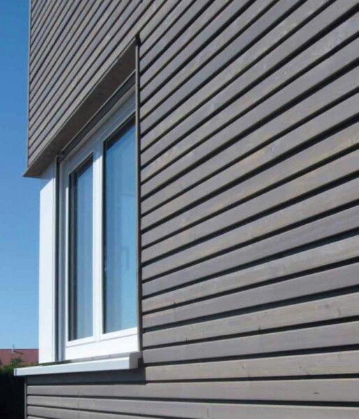 Bardage bois gris ext rieur pinterest bardage bois bois gris et bardage - Bardage moderne ...