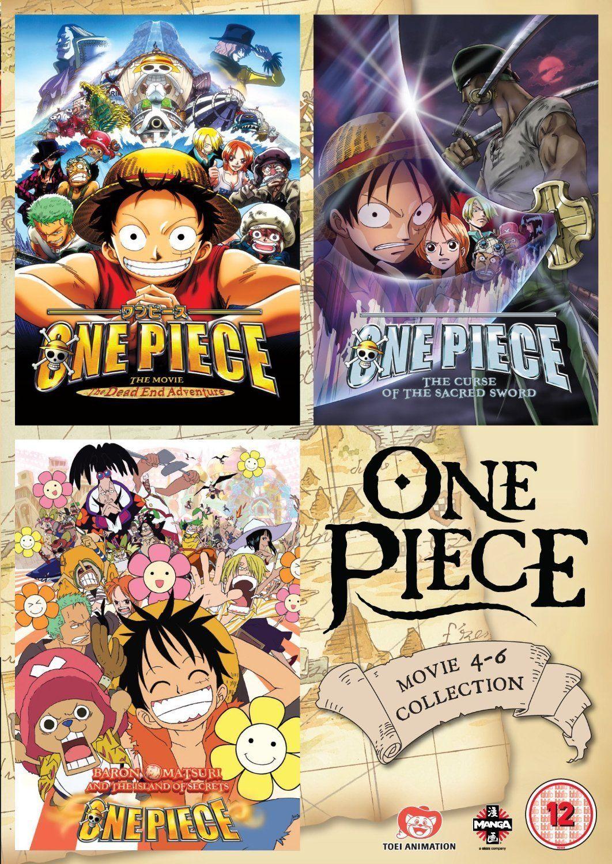 One Piece: Movie Collection 2 [DVD] [Reino Unido] #Collection, #Movie, # Piece, #Unido   One piece y Cine