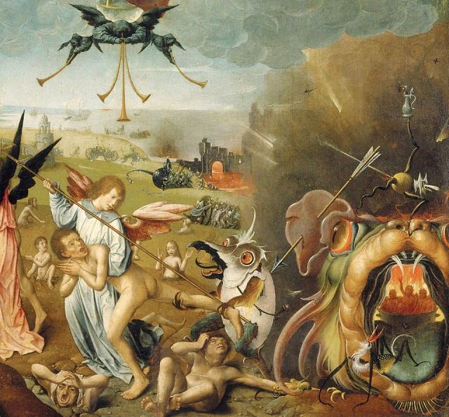 Detail from The Last Judgement by Jan Provost - 1525