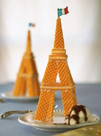 American In Paris Party...make our own Eiffel Towers - what fun!