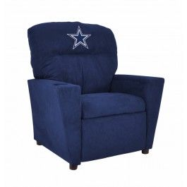 Dallas Cowboys Nfl Kids Childrens Recliner Chair Furniture Kids