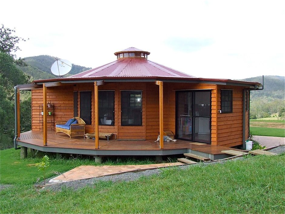 Family Yurt with wings  Home improvements  Casas