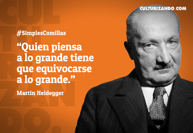 Quién Fue Martin Heidegger Frases Frases De Personajes