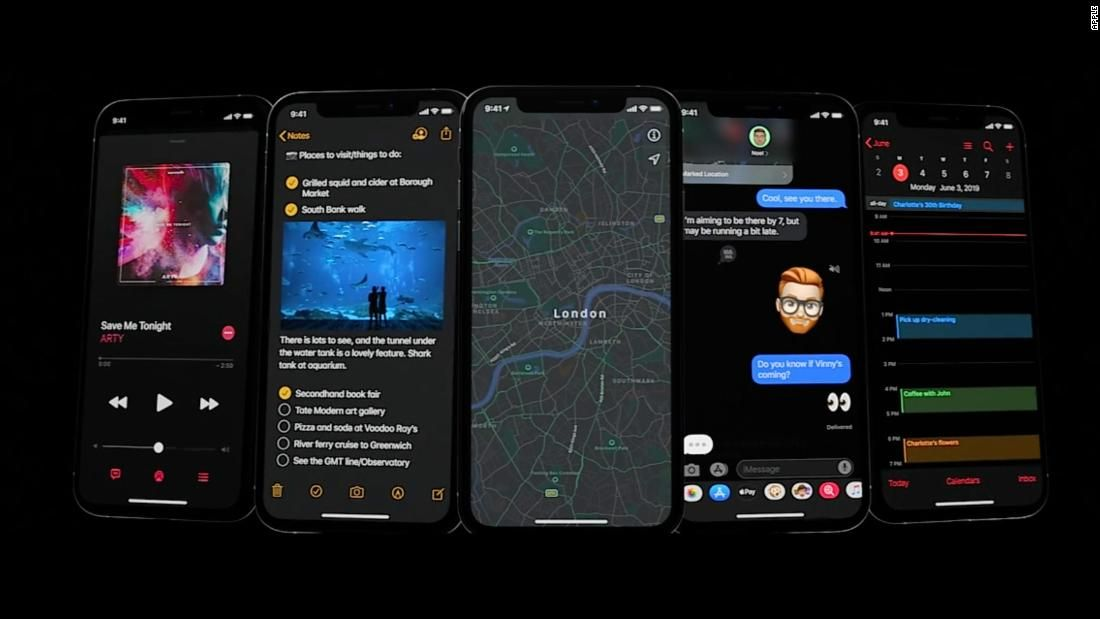 The iPhone's new dark mode Why you should care Iphone