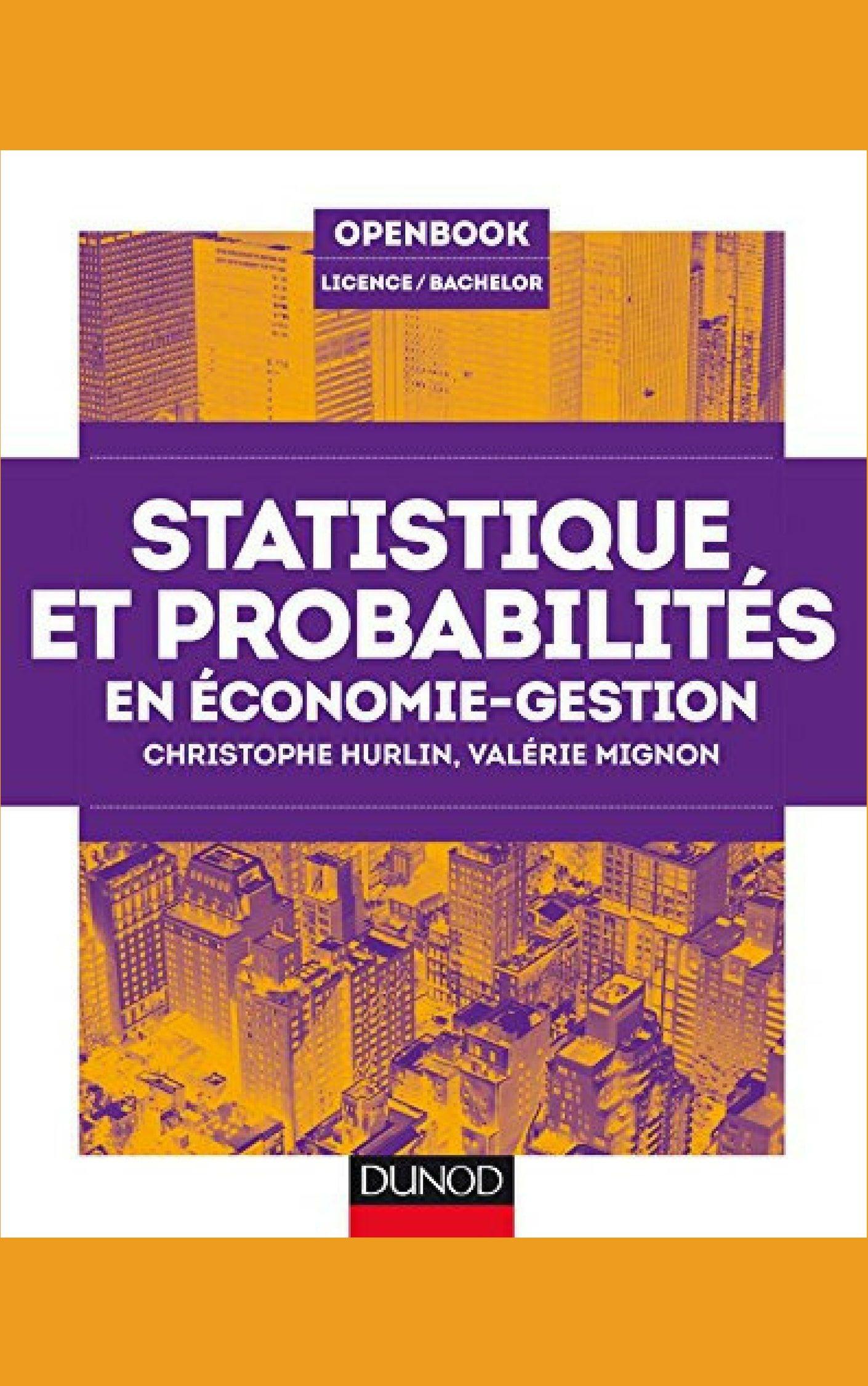 Statistique Et Probabilites En Economie Gestion Amazon Kindle Books Ebook Finance