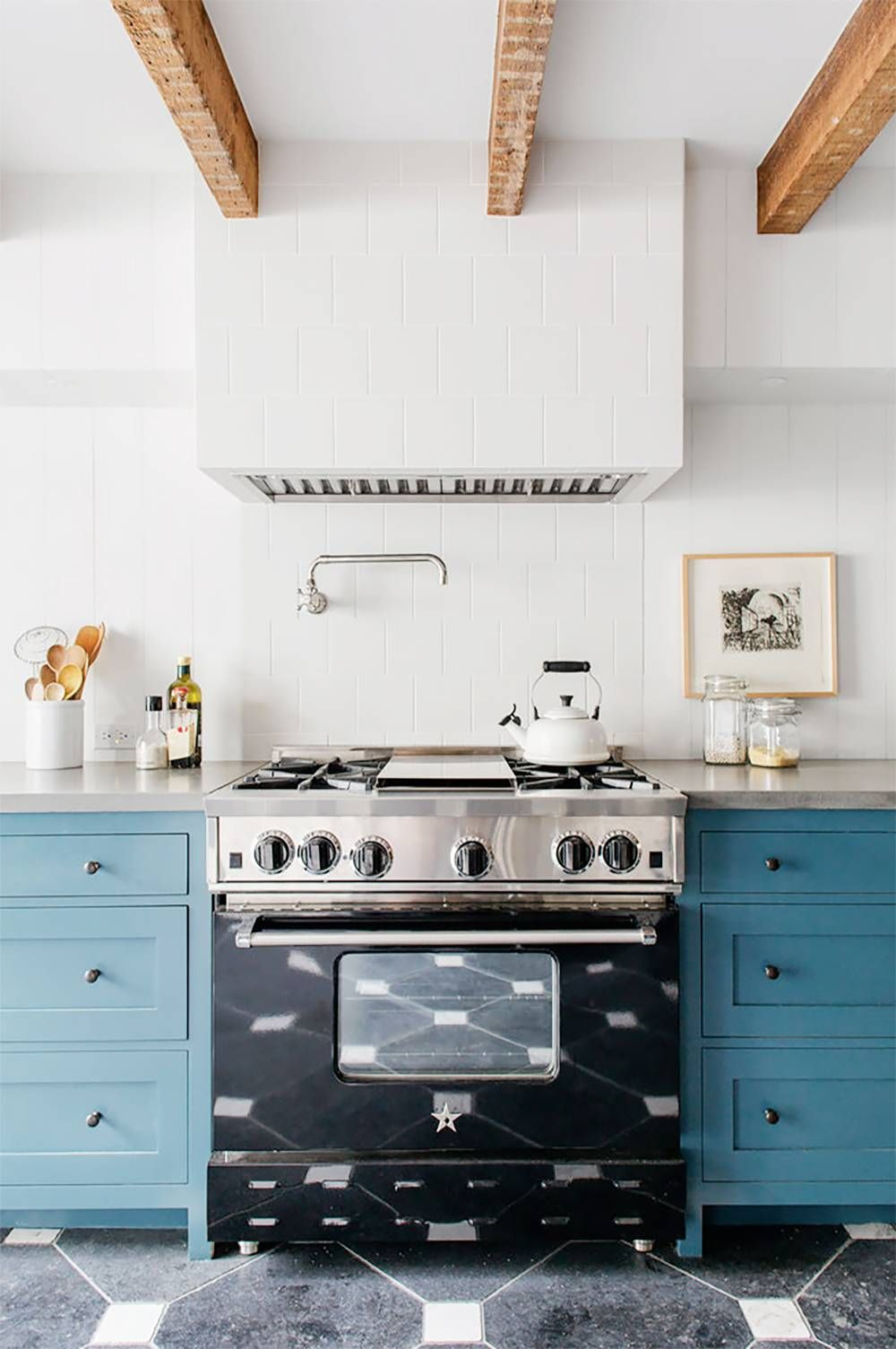 Blueprint Top 10 Interiors In Behr S Color Of The Year 2019 Kitchen Design Home Kitchens Kitchen Interior