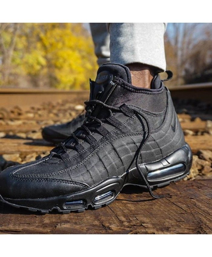 air max 95 sneakerboot black