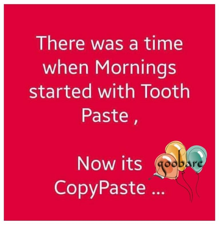 Copy Paste Humor Morning Start Ecard Meme