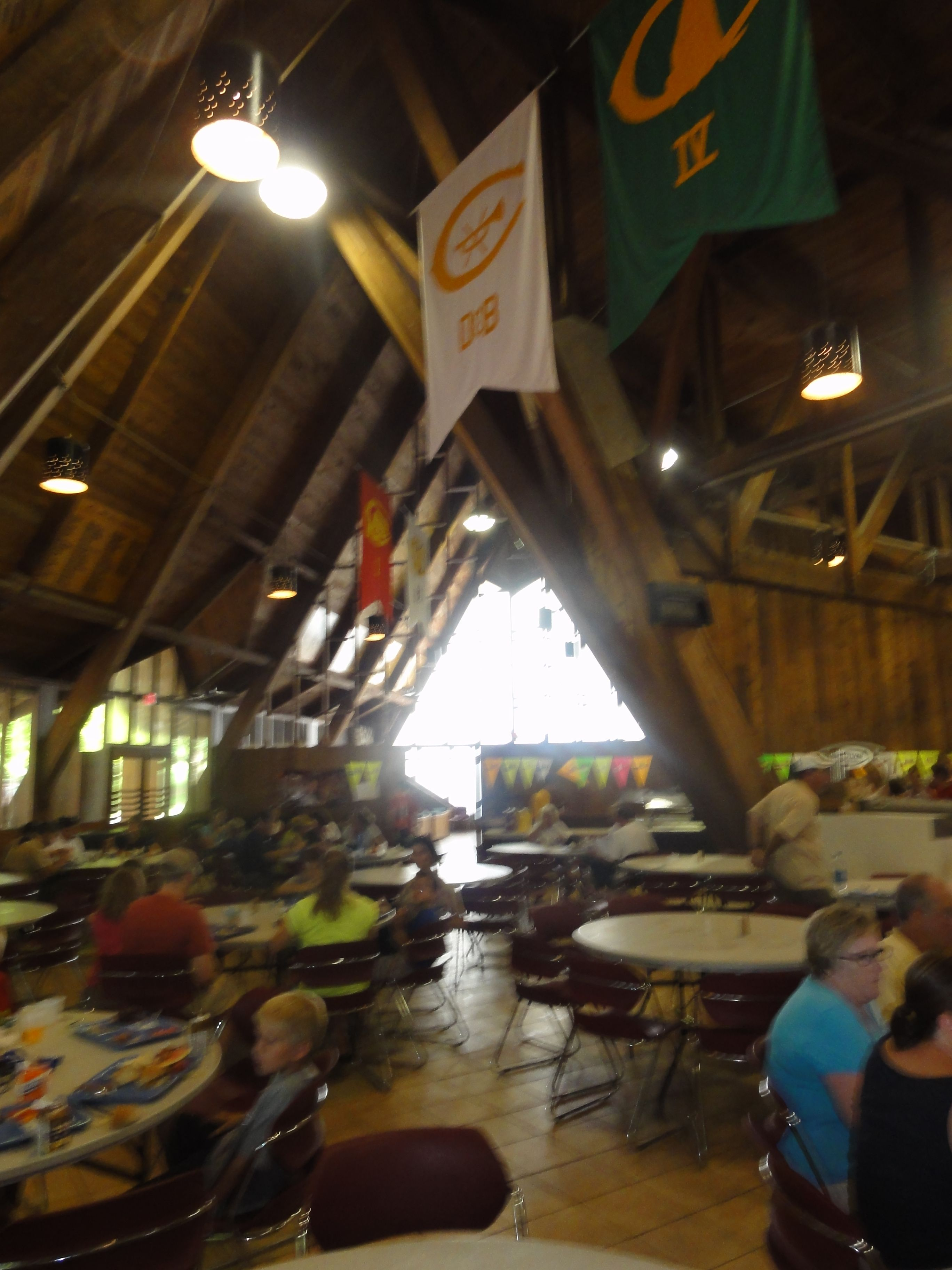 Woodcraft Mess Hall that they've tried to rename the