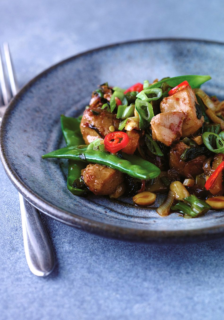 Chicken StirFry with Celery and Peanuts Recipe Grilled