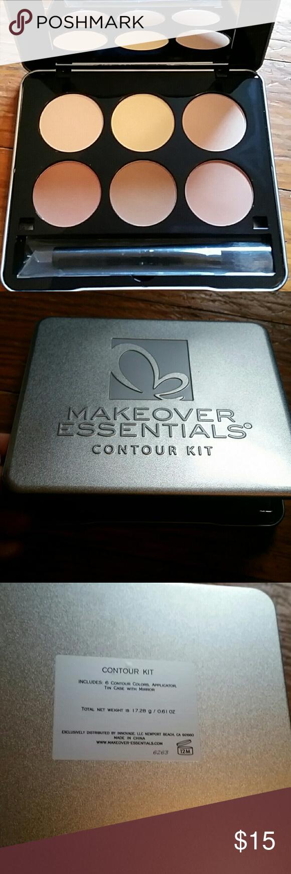 Makeover Essentials contour palette Makeover essentials