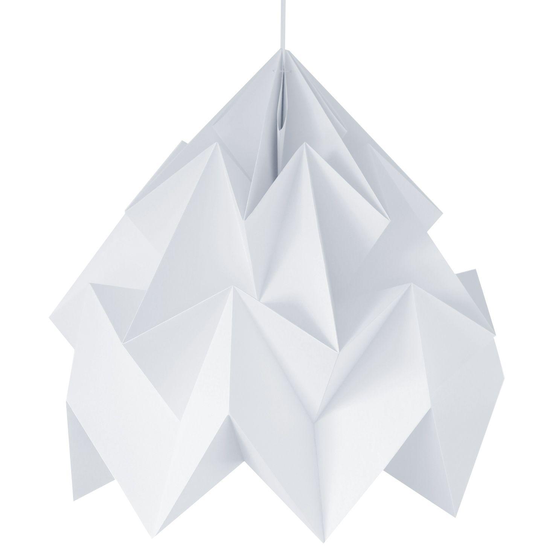 Suspension XXL Papier Blanc ˜68cm MOTH