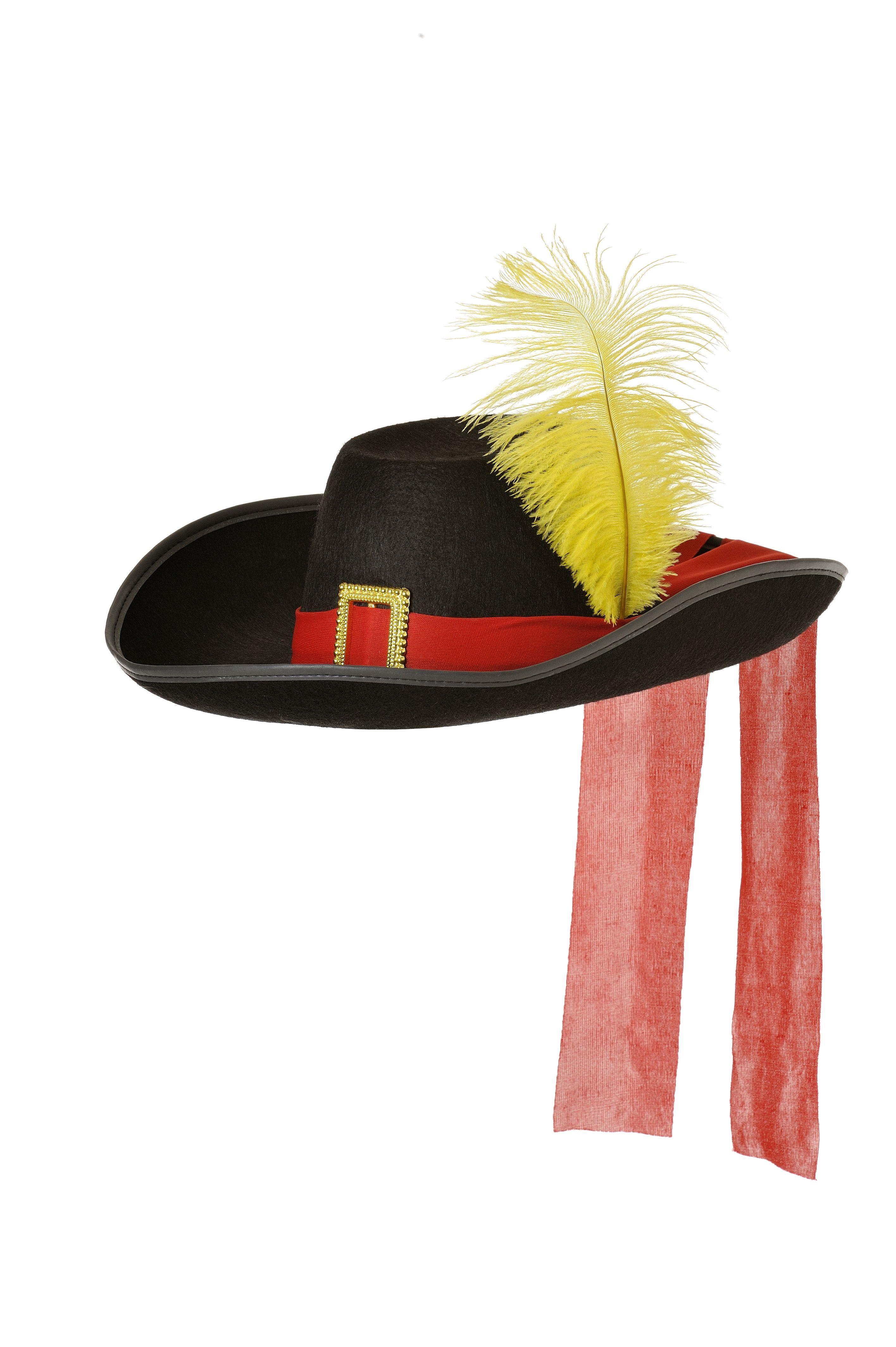 d7a8489d04d77 Sombrero de mosquetero de fieltro