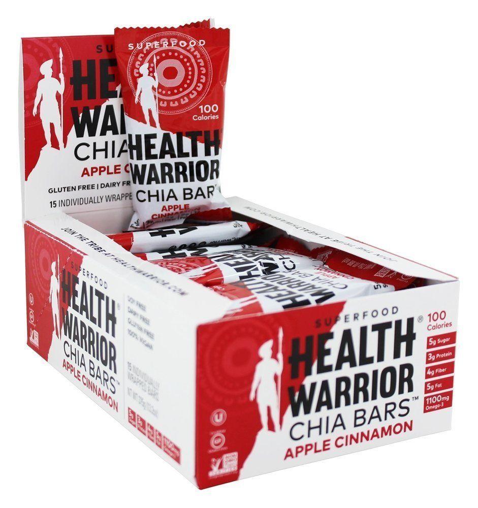 Health warrior chia bars gluten free apple cinnamon 15