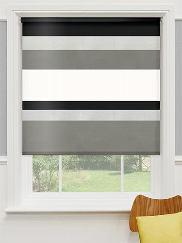 Mondian Soho Blackout Roller Blind From Blinds