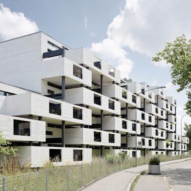 Paul clairmont strasse housing architect gmur steib architekten location zurich - Gmur architekten ...