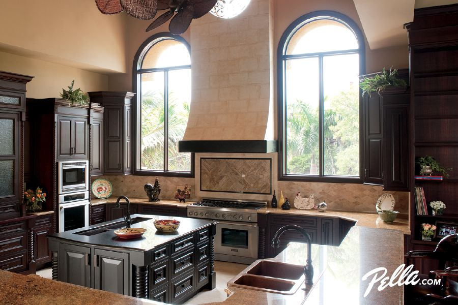 Pella® Architect Series® Circle Head Windows Convey Architectural Character    Traditional   Kitchen   Other Metro   Pella Windows And Doors