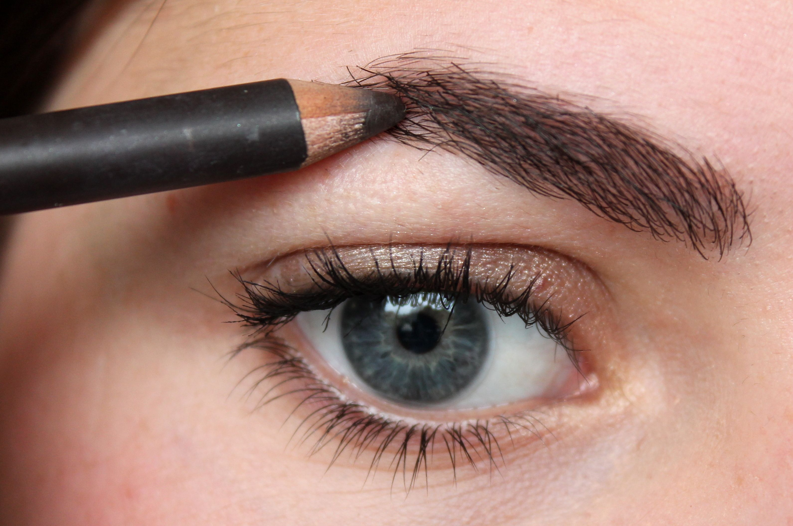 This is something most women already do: pluck the hairs around the brows. When I say around, I mean AROUND! Do not remove (parts of) your actual brows http://www.perfecteyebrows.net/