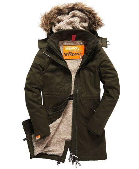 Superdry Hooded Super Wind Parka | Parka coat, Parka