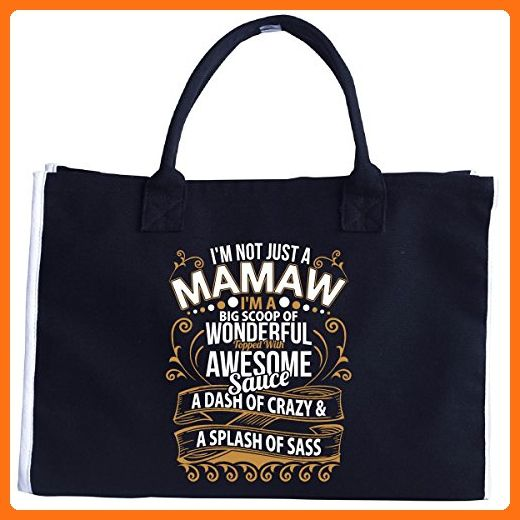 I'm Not Just A Mamaw, I'm A Wonderful Awesome And Cool Mamaw - Tote Bag - Totes (*Amazon Partner-Link)