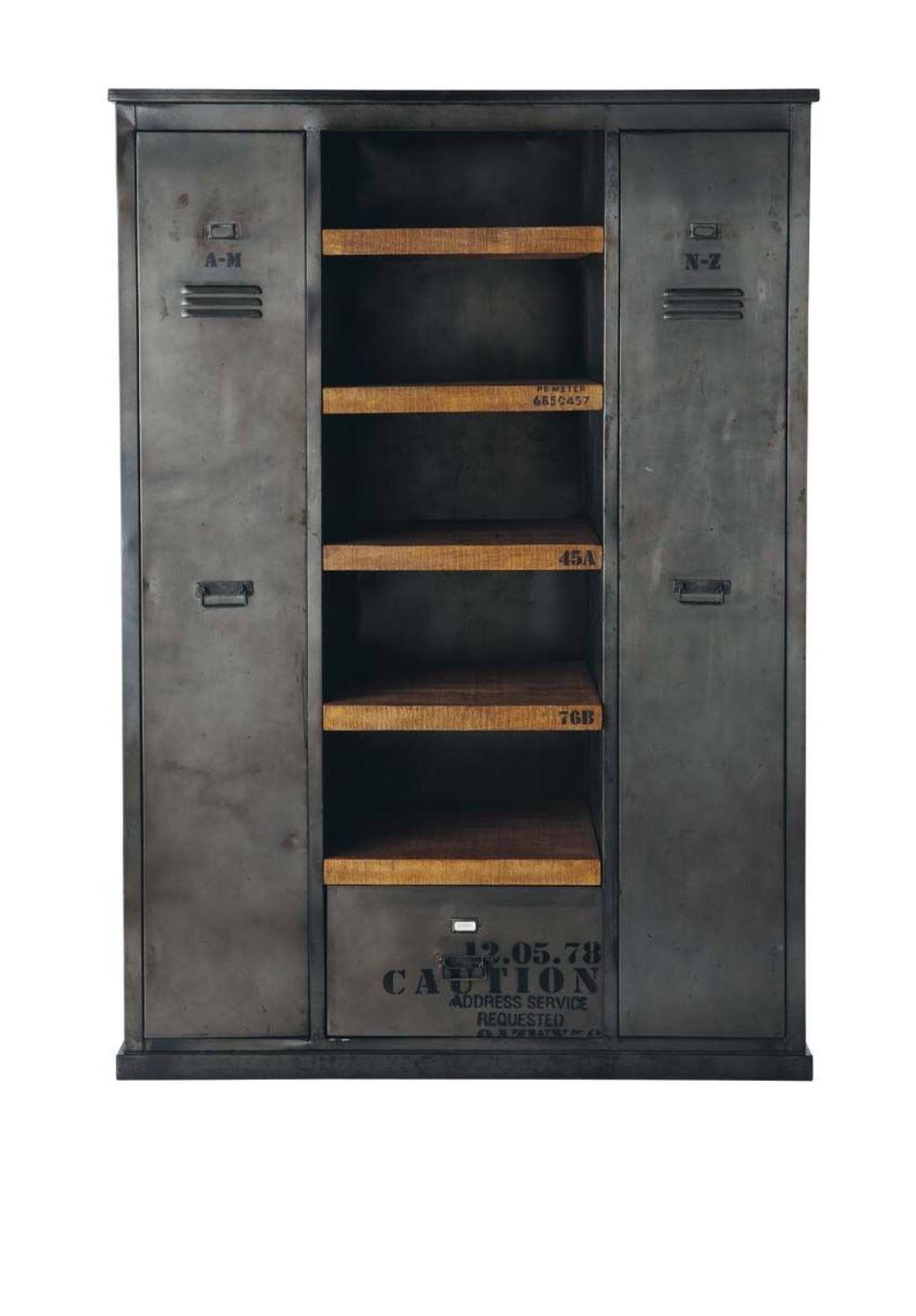 Vintage Gym Storage Armario Industrial Muebles Estilo Industrial Estilo Industrial