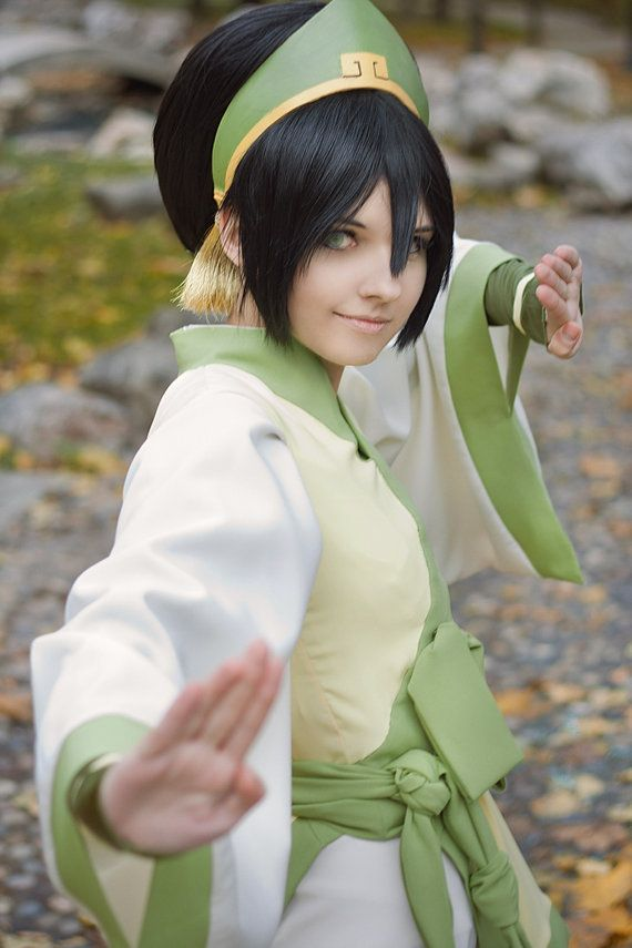 Photo of Avatar the Last Airbender Toph Beifong Cosplay Wig – #Airbender #avatar #Beifong…