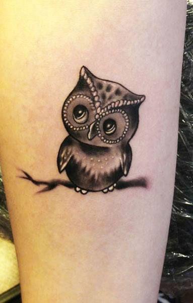 Idée tatouage hibou et chouette