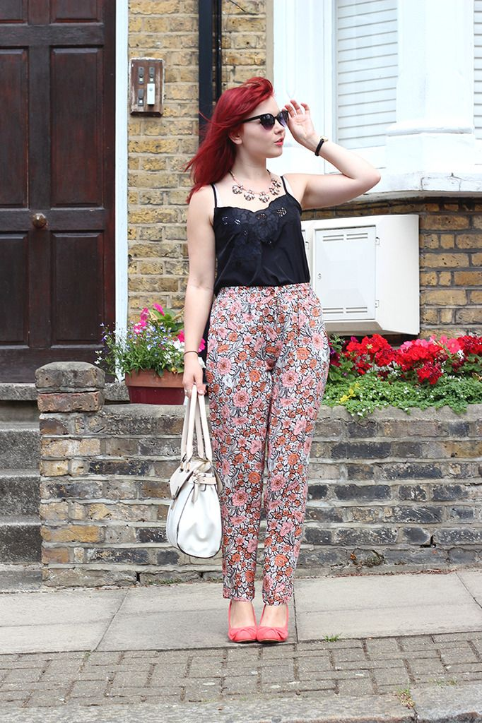 Paige Joanna floral joggers Dorothy Perkins