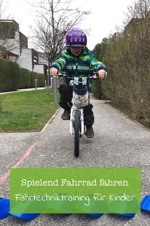 Fahrtechniktraining Fur Kinder Training Fahren Lernen Fahrrad