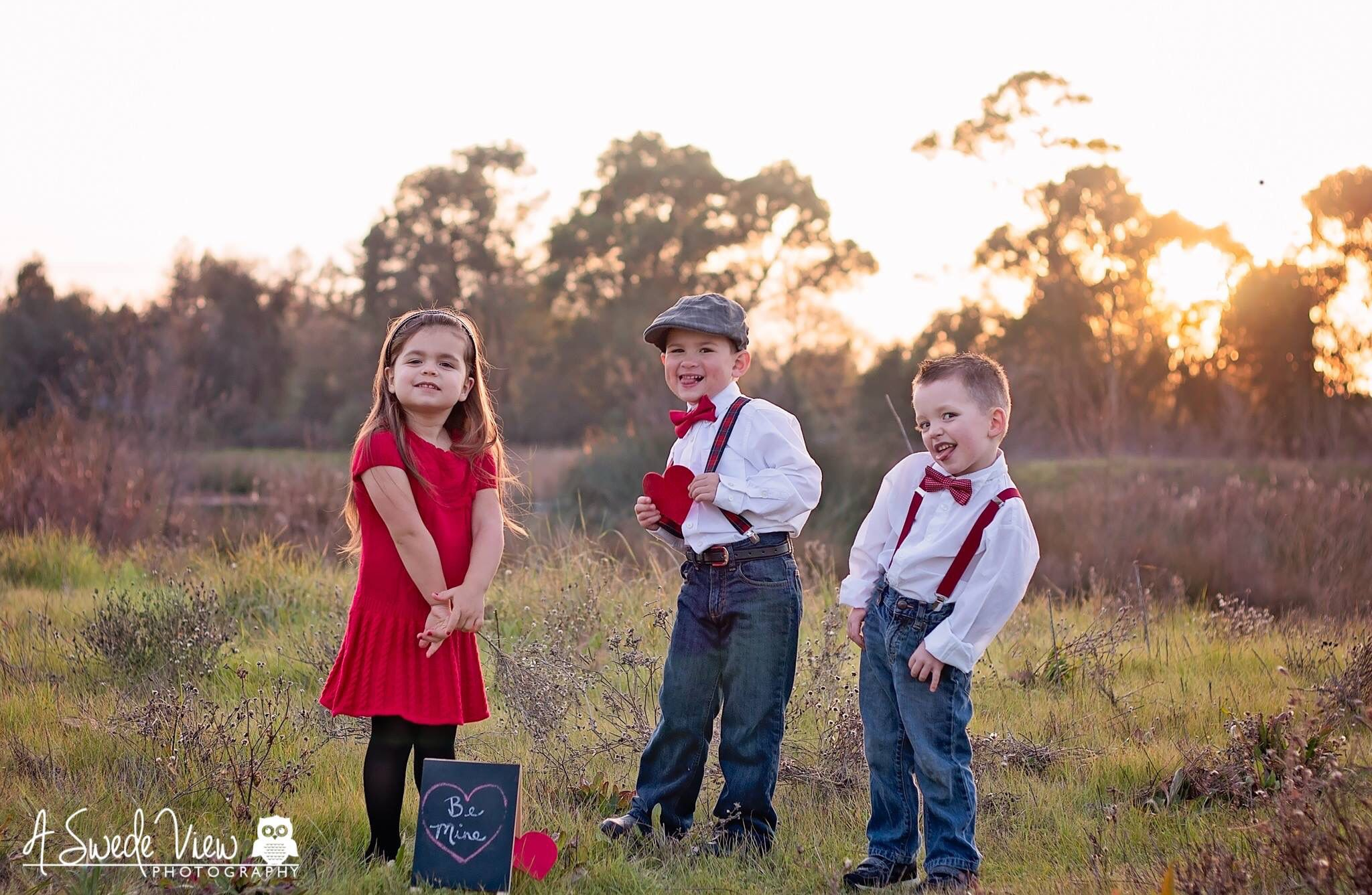 Valentines day mini sessions outdoor photography kids lifestyle