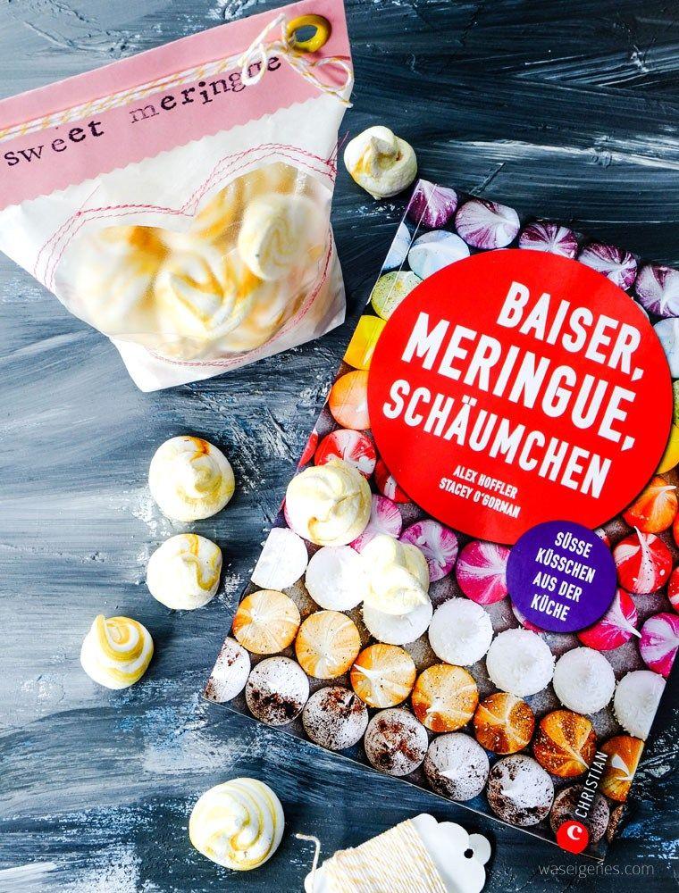 Geschenke aus der Küche sweet meringue hübsch verpackt Pinterest