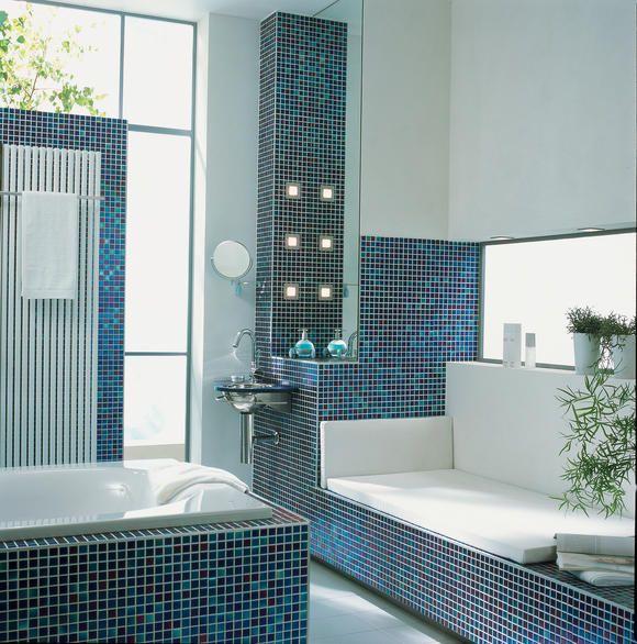 s1hroomido bilder l badezimmer modern sitzbank-aus - mosaik fliesen badezimmer