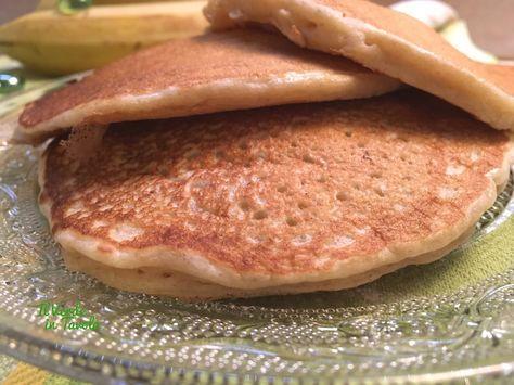 Pancakes vegani alla banana   Il Verde In Tavola