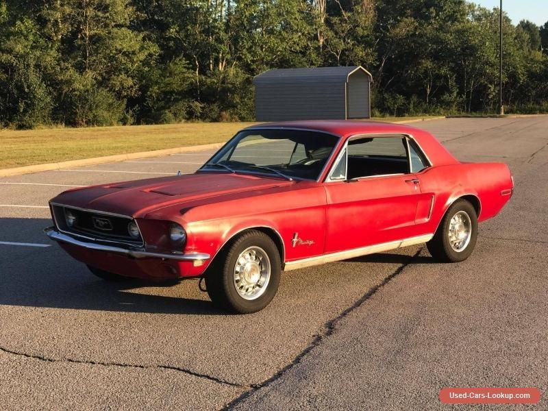1968 Ford Mustang #ford #mustang #forsale #unitedstates | Cars for ...