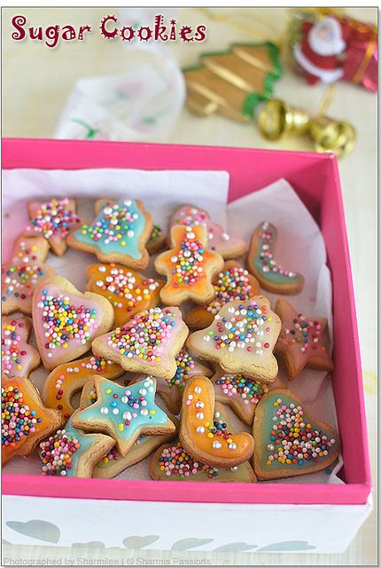 Eggless Sugar Cookies With Royal Icing Cookies Eggless Sugar
