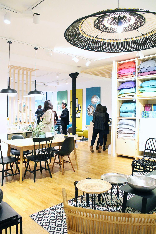 La Redoute Interieurs Paris event : ouverture de la boutique la redoute interieurs | la